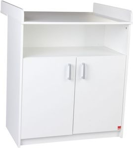 Wickelkommode Classic - Maße: (LxBxH) 78 x 68 x 94 cm - Farbe: weiß