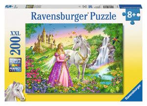 Puzzle - Prinzessin mit Pferd - 200 XXL Teile