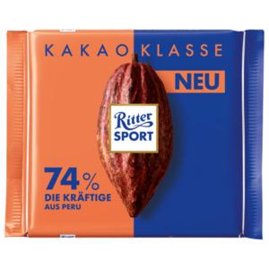 Ritter Sport Kakao Klasse 74% Die Kräftige 100g