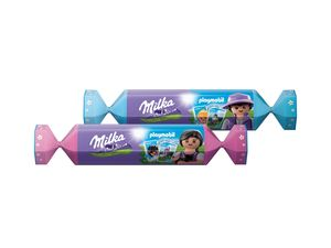 Milka & Playmobil Geschenkbonbon