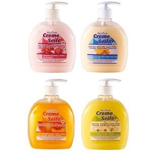 Cremeseife in Spenderflasche - sortiert - 500 ml