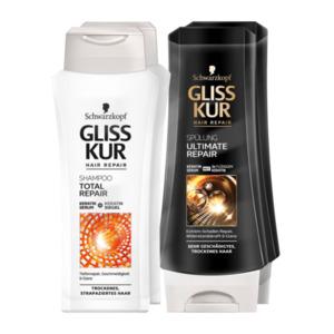 Schwarzkopf Gliss Kur Spülung / Shampoo