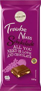 Schokoliebe Traube Nuss Schokolade Goutier 100 g