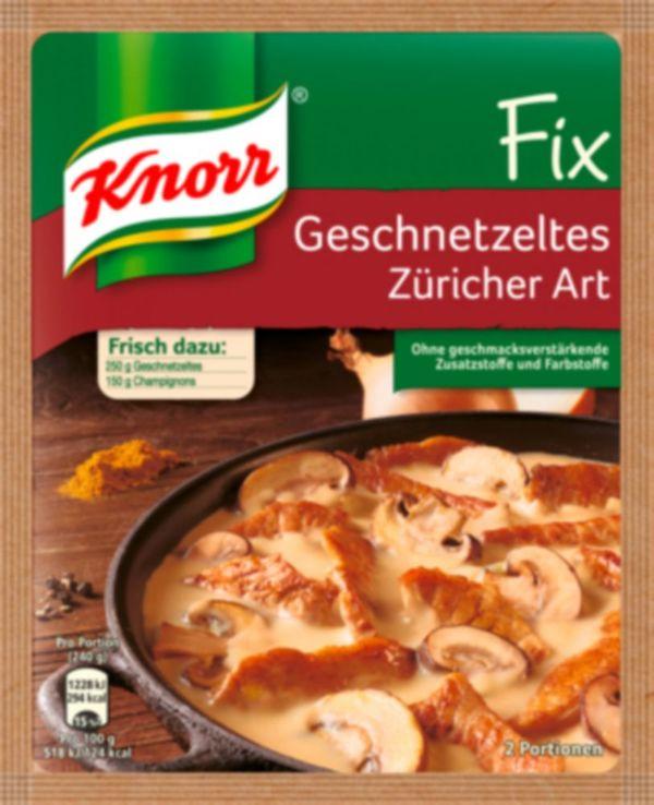Fix Züricher Geschnetzeltes Knorr 41 g