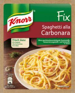 Fix für Spaghetti Carbonara Knorr 38 g