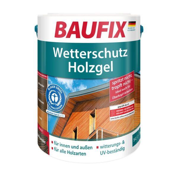 BAUFIX Wetterschutz Holzgel Palisander 5 L