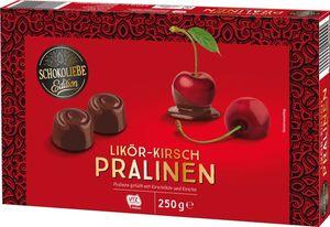 Schokoliebe Edition Likör Kirschpralinen 250 g