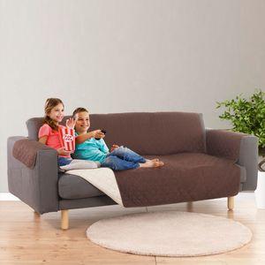 EASYmaxx Sofaüberzug Couch Coat 3-Sitzer