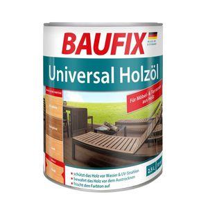 BAUFIX Universal Holzöl, teak, 2,5 L