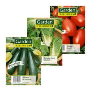GARDEN FEELINGS     Gemüse- / Salat- / Hülsenfrüchte-Sämereien