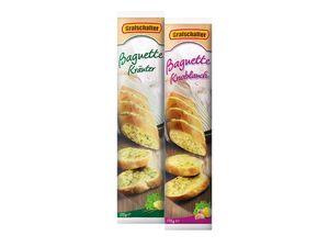 Kräuter-/Knoblauch-Baguettes