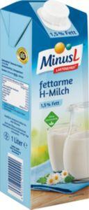 MinusL fettarme H-Milch 1,5% Fett, 1Liter DE
