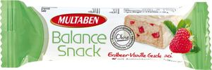 Multaben Balance Snack Riegel Erdbeer-Vanille 38g