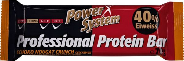 Power System Professional Eiweiß Riegel Schoko Nougat Crunch 70g