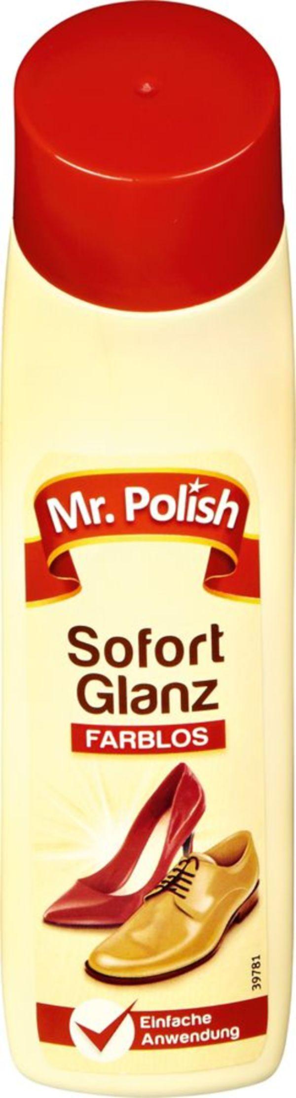 Mr. POLISH SCHNELLGLANZ FARBLOS, 75ml
