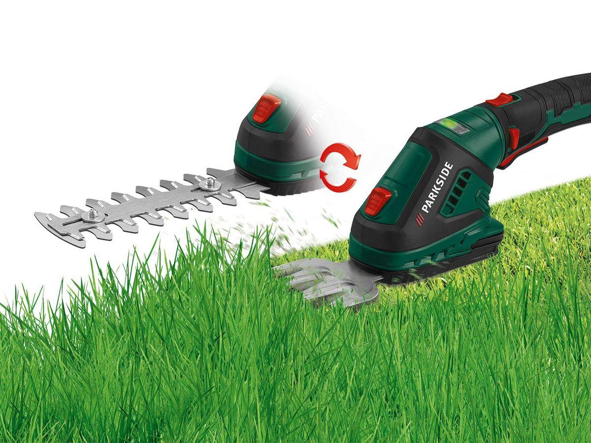 Bild 2 von PARKSIDE® Akku-Gras- und Strauchschere PGSA 4 A1