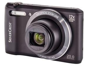 SILVERCREST® Digitalkamera mit WLAN