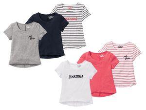 PEPPERTS® 3 Kinder Mädchen T-Shirts