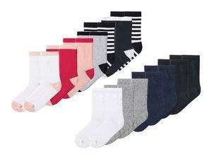 PEPPERTS® 7 Paar Kinder Mädchen Socken