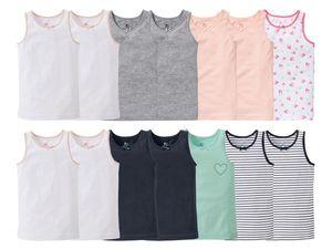 LUPILU® 7 Kleinkinder Mädchen Unterhemden