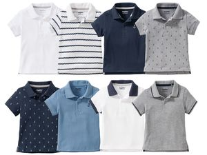 LUPILU® 4 Kleinkinder Jungen Poloshirts
