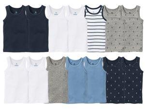 LUPILU® 7 Kleinkinder Jungen Unterhemden