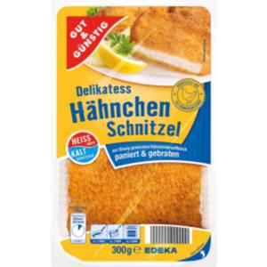 Gut & Günstig Delikatess Hähnchen Schnitzel