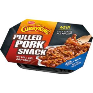 Meica CurryKing Frikos oder Pulled Pork Snack
