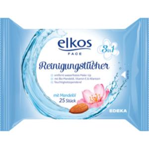 Elkos Face Reinigungstücher 3 in 1