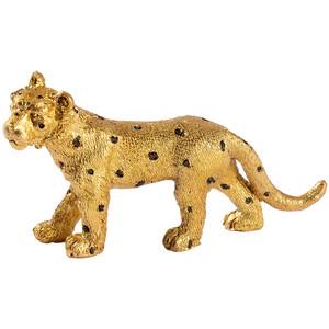 Deko-Figur Löwe mit Punkten