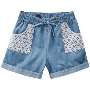 Mädchen Shorts mit Spitze
