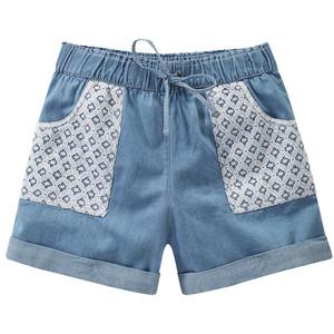 Mädchen Shorts mit Spitzendetails