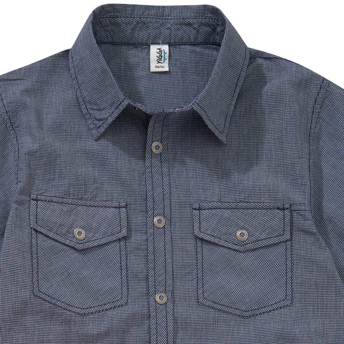 Bild 2 von Jungen Hemd im Karo-Look
