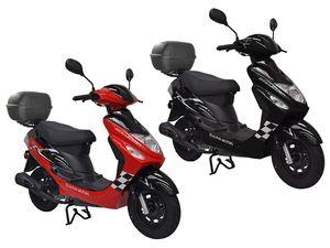 Alpha Motors Motorroller CityLeader 50 ccm inkl. Topcase