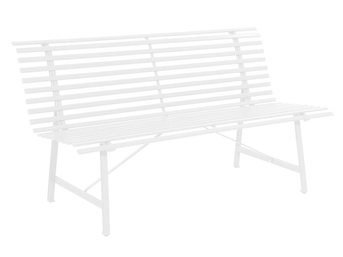 Bild 1 von Leco Stahlgartenbank elfenbein