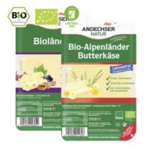 AndechserBio Butterkäse, Kräuterkäse, Hirtenkäse, Bioländer