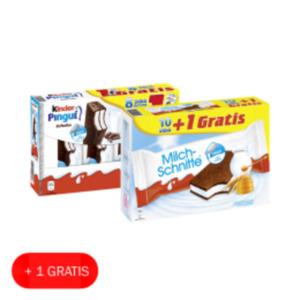 Ferrero Milch-Schnitte oder Kinder Pingui