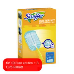 Swiffer Staubmagnet Starterset, Staubmagnet- oder Wischtücher