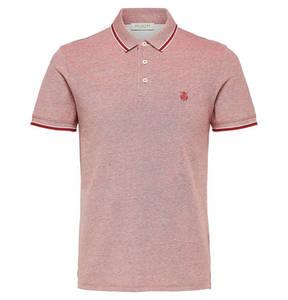 SELECTED             Polo-Shirt, Baumwolle, Logo-Stickerei