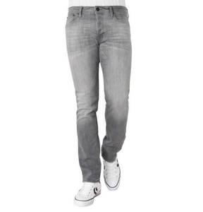 JACK & JONES             Jeans, Slim Fit, leichte Waschung, Patch