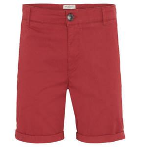 SELECTED             Shorts, Straight Fit, Baumwolle, umgeschlagener Saum, uni