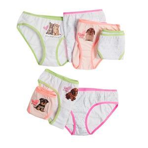 Kinder Slip 7er-Pack für Mädchen