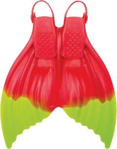 Meerjungfrauflosse Luna Mystic Melon (Gr. 28-35),rot/gelb