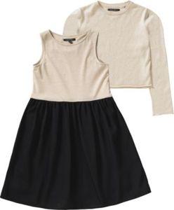 Kinder Kleid + Pullover 2 in 1 Gr. 158/164 Mädchen Kinder