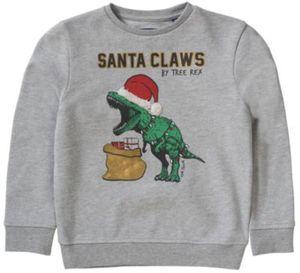 Sweatshirt mit Dino , Weihnachten Gr. 116/122 Jungen Kinder
