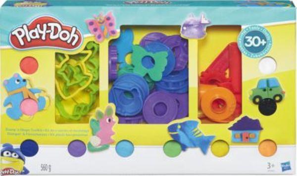Exklusiv Play-Doh Stempeln und Formen Knetset