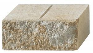 Primaster Mauer San Marino ,  30/15/12 cm, sandsteingelb mit bruchrauen Oberflächen