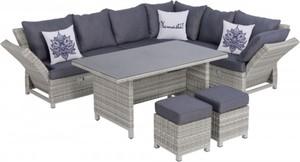 Primaster Lounge Set Imperia de Luxe ,  Möbelset mit Ausziehtisch
