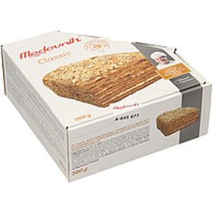 """Torte """"Medovnik Classic"""" mit 50% Cremefüllung mit gezuckerte..."""