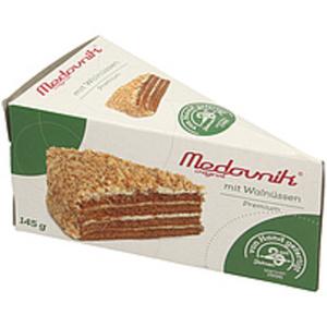 """Torte """"Medovnik Premium"""" mit 50% Cremefüllung mit gezuckerte..."""